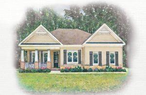 Elizabeth Place Chesapeake Virginia Dogwood homearama blog 2